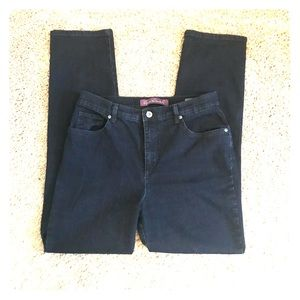 NWOT Dark Gloria Vanderbilt Jeans: Size 10